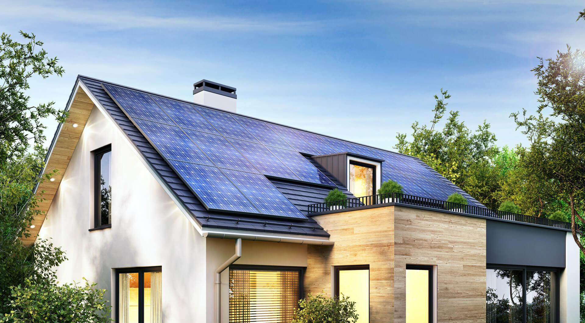 Photovoltaik Dach